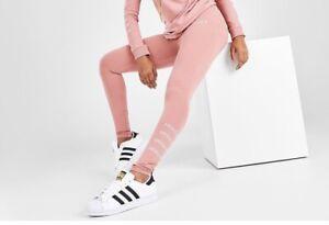 Adidas Originals Repeat Logo Legging Womens Active Leggings 'Ash Pink' GV1611