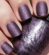 """OPI *RARE* Nail Polish """" LINCOLN PARK AFTER DARK  SUEDE """" New/Full Size & RARE!"""