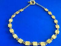 #0969# Joli et Ravissant Collier Vintage de Biche de Bere (signé)
