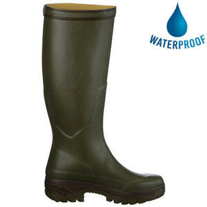 Aigle Parcours 2 Green Mens Ladies Womens Wellies Wellington Boots Size UK 4-11