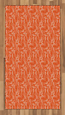 Seahorse Area Rug Flat Woven Accent Rug Home Decoration 2 Sizes Ambesonne