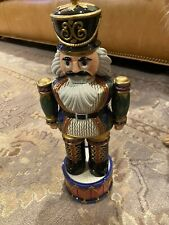 Fitz and Floyd Soldier Nutcracker Collection 2004 Rare Le 12 Inch