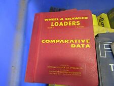 COMPARATIVE DATA WHEEL & CRAWLER TRACTORS VOL 2 F TO OTHERS