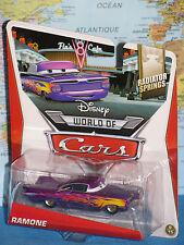 DISNEY WORLD OF CARS RAMONE RADIATOR SPRINGS PURPLE FLAMES **BRAND NEW & RARE**