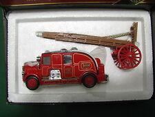 Vintage  -  LEYLAND  CUB  FIRE  ENGINE  FK-7  1936 - Matchbox  YS-9  Mint Box