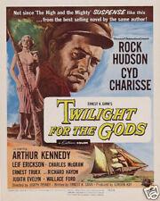 Twilight for the Gods Rock Hudson vintage movie poster