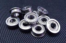 (50 PCS) F686ZZ (6x13x5 mm) Metal Shielded FLANGED Ball Bearing Bearings F686z