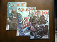 THE OCCULTIST COMIC SET # 1-3 DARK HORSE 2011 1ST SERIES TIM SEELY HACK SLASH
