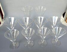 Set, Kelchglas, Kristallglas, Josephinenhütte, um 1920