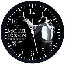 Michael Jackson Black Frame Wall Clock  F136
