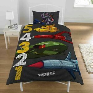 Thunderbirds 54321 Single Duvet Set