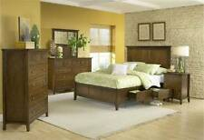 Modus Paragon/Pendleton 6-Piece Bedroom Set White or Red Mahogany -FREE DELIVERY