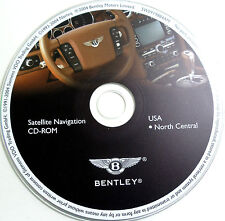 04 05 2006 BENTLEY CONTINENTAL GT COUPE FLYING SPUR NAVIGATION CD NORTH CENTRAL