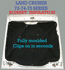 Toyota Land Cruiser FJ HJ HZJ 73 74 75 Series Under Bonnet Insulation