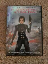 Resident Evil: Retribution (DVD, 2012) Milla Jovovich