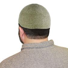 Pistachio One Size Fits Most Velvet Cotton Stretchable Kufi Hat Mens Skull Cap
