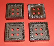 4x Plcc 84 Pin Pin Ic Socket Präzisionsfassung Industrial Quality from Cab
