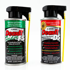 CAIG DeoxIT Bundle - 1x D5 Contact Cleaner & 1x F5 Fader Lube (D5S-6 + F5S-H6)
