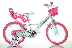 16 Zoll Kinderfahrrad Hello Kitty Original Lizenz Kinderrad Fahrrad Spielrad
