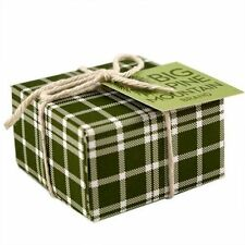 BIG PINE MOUNTAIN SPRUCE SOAP, Plaid Gift-Wrapping, 5.8 oz. Bar, by Kalastyle