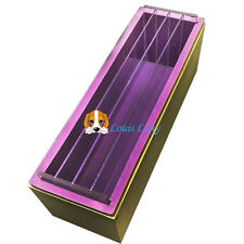 Wood 1.2kg loaf soap mould with silicone mold with divider melt or cold-process