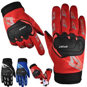 ✅ Motorradhandschuhe Touchscreen Mountainbike Handschuhe Fahrrad Sport BMX MTB