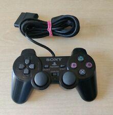 PS2 DUALSHOCK 2 CONTROLLER ORIGINALE NERO SONY PLAYSTATION 2 OTTIMO