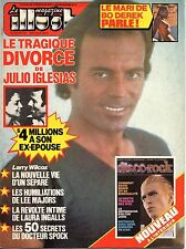 French mag 1980: JULIO IGLESIAS_LEE MAJORS_LEONARD NIMOY_THE WHO_DAVID BOWIE