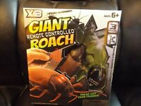 Giant Roach Infrared Remote Controlled Roach Lifelike Movement RC Joke Prank Toy