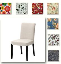 Custom Made Chair Cover, Fits IKEA Henriksdal Chair, Patterned Fabrics