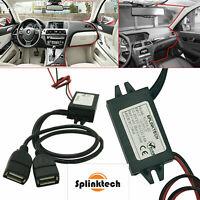 12v DC Nextbase Dual USB Car Charger Hard Wire Mini Power Kit For Dash Cam DVR