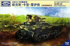 1/35 Chinese WWII Canton Army VCL Light Amphibious Tank A4E12 - CAMS #CV35-001