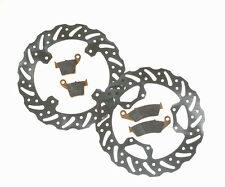 MDR Complete set of Brake Discs and Pads for Kawasaki KX 125 95 - 02
