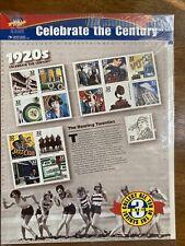 Década de 1920 celebrar el siglo Hoja de quince 32 Centavos Estampillas Postales Nuevo Sellado