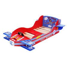 Bedroom MDF Board Childrens Girls Princess Junior Airplane-Themed Toddler Bed UK