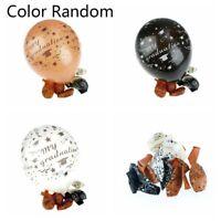 10/20Pcs Graduation Balloon Latex Balloons 12Inch Mix Color Graduation Party DIY