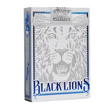 David Blaine Black Lions Playing Cards: BLUE EDITION