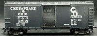 VARNEY: Chesapeake & Ohio C&O #2538 Black BOXCAR. HO SCALE. VINTAGE