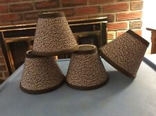 Mini Chandelier Empire Style Lamp Shades