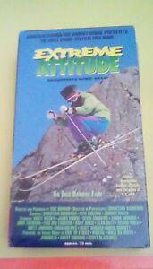 Extreme Attitude - The Most Unique Ski Film Ever Made 1992 VHS snow skiing RARE
