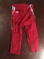 Indiana University Hoosiers Football Pants Red Standard Game Worn/Used/Issued