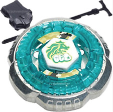 Rock Leone 145WB Metal Fusion Fight Beyblade BB-30 Set w/ Launcher & Ripcord
