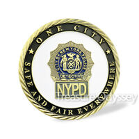 New York Police Commemorative Challenge Coin NYPD Military Featured Gift