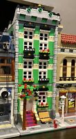 LEGO CUSTOM MODULAR BUILDING TOWN HOUSE fits with 10218 10246 10251 MOC 587 np