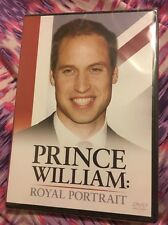 PRINCE WILLIAM-A ROYAL PORTRAIT - DVD- REGION 2- NEW AND SEALED