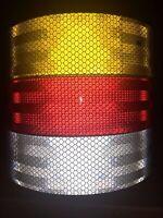 3M Diamond Grade ECE 104 Conspicuity Reflective Tape HGV Truck Trailer UK Seller