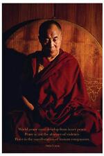 Dalai Lama - World Peace POSTER 61x91cm NEW * Human Compassion