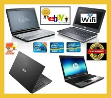 CHEAP FAST DUAL CORE & CORE I3 I5 I7 LAPTOP WINDOWS 10 4GB 8GB RAM WITH SSD HDD