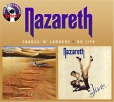 Nazareth-Snakes 'N' Ladders/No Jive  (UK IMPORT)  CD NEW