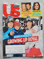 March 2016 US WEEKLY MAGAZINE Prince George & Princess Charlotte Adam Levine